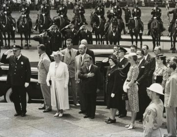 Wilhelmina tijdens een bezoek aan New York, zomer 1942 (Wiki Commons)
