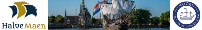 VOC-museumschip de Halve Maen in Hoorn
