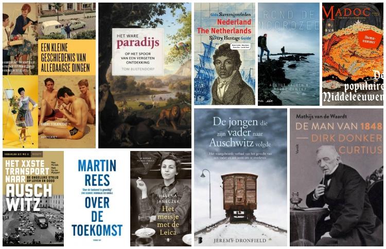 Nieuwe geschiedenisboeken (week 15) - 2019