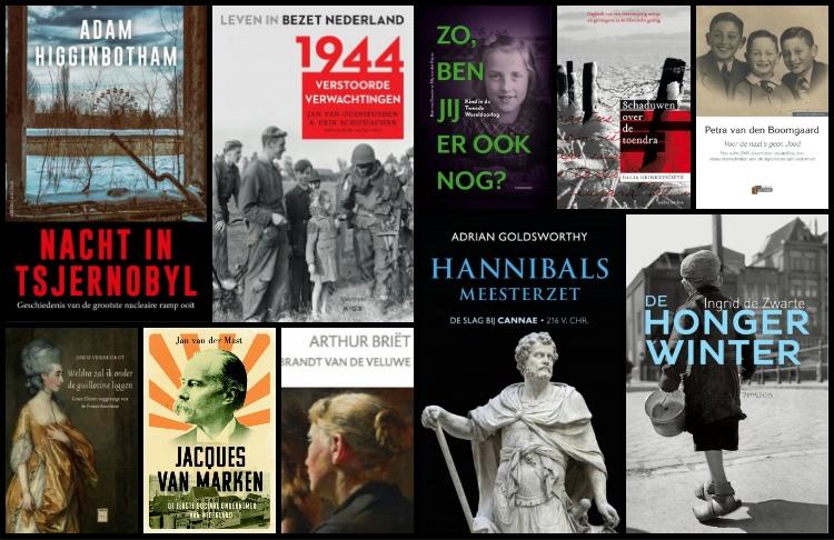 Nieuwe geschiedenisboeken (week 14) - 2019
