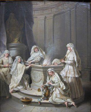 Vierges antiques - Jean Raoux  (Publiek domein)
