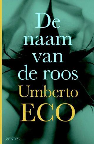 Oude uitgave van 'De naam van de roos' van Umberto Eco
