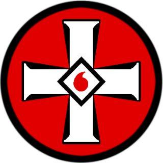Symbool van de Ku Klux Klan