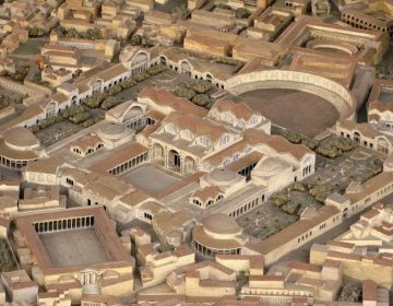 Model van de Thermen van Trajanus (CC BY-SA 3.0 - Cassius Ahenobarbus - wiki)