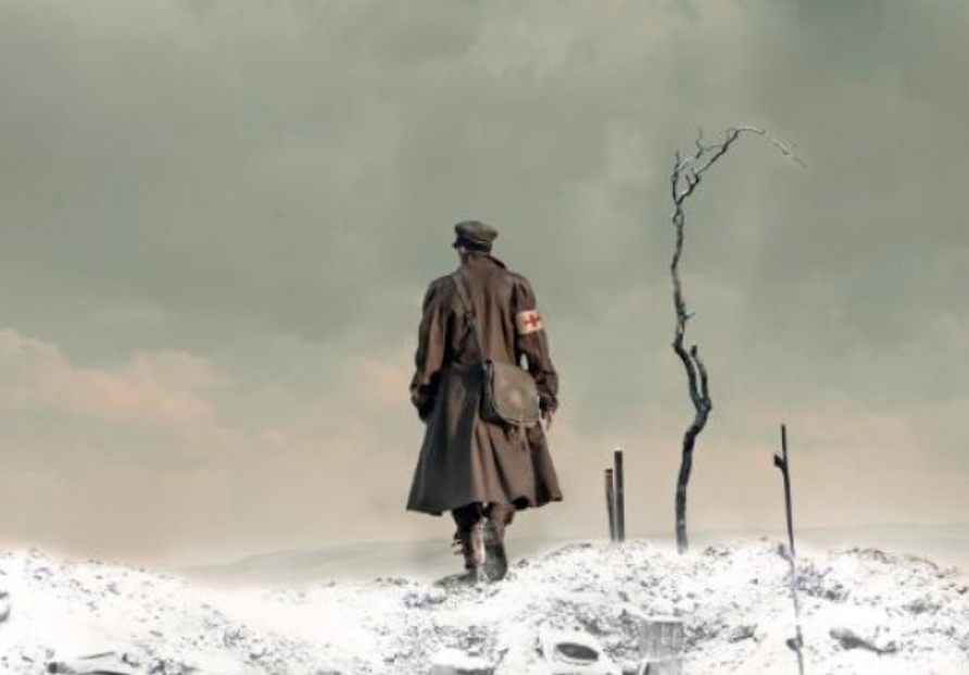 'De wintersoldaat' - Detail van de cover