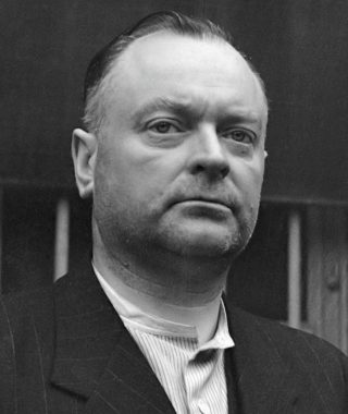 Anton Mussert, gevangen in Scheveningen, 1945 (CC0 - Anefo - wiki)
