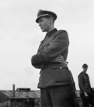 Willekeurige man in het uniform van de Landstorm (CC0 - Willem van de Poll)