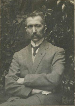 Paul Boucabeille, ca. 1919 (Haags Gemeentearchief - Fotograaf onbekend)