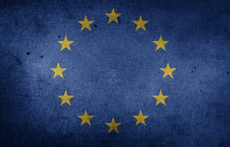 Vlag van Europa (CC0 - Etereuti - wiki)