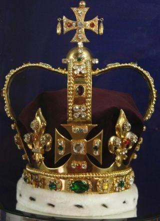Kroon van Sint-Eduard (CC BY 2.0 - dbking - wiki)
