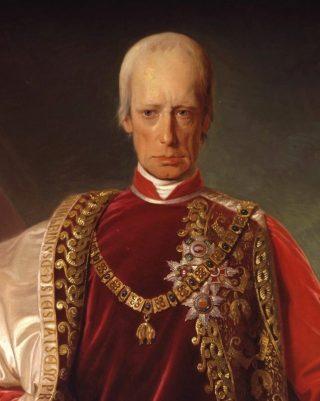 Portret van keizer Frans I door Friedrich von Amerling, 1832