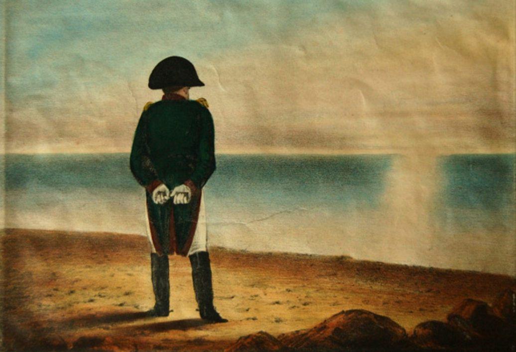 Napoleon bij Elba (Publiek Domein - wiki)