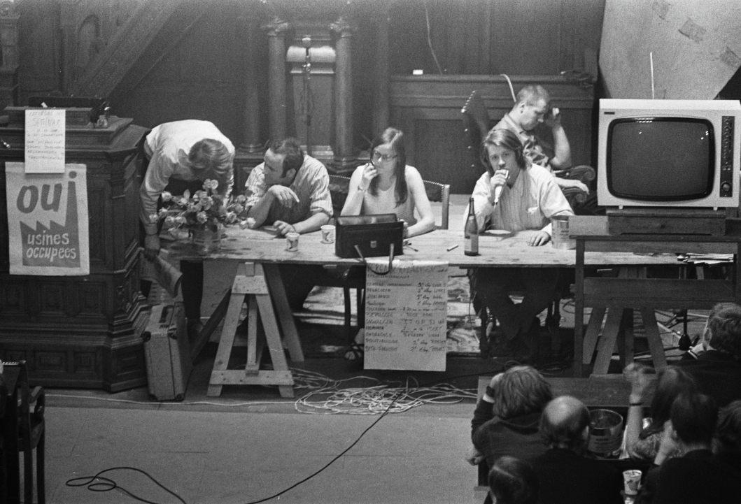 Bezetting van het Maagdenhuis in 1969 (CCO - Anefo - wiki)
