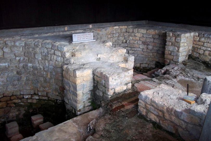 Laconicum van een Romeinse Villa in Chedworth (CC0 - Pasicles - wiki)