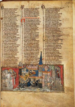 Bekend fragment uit de Spieghel Historiael - Koninklijke Bibliotheek (Publiek Domein - wiki)