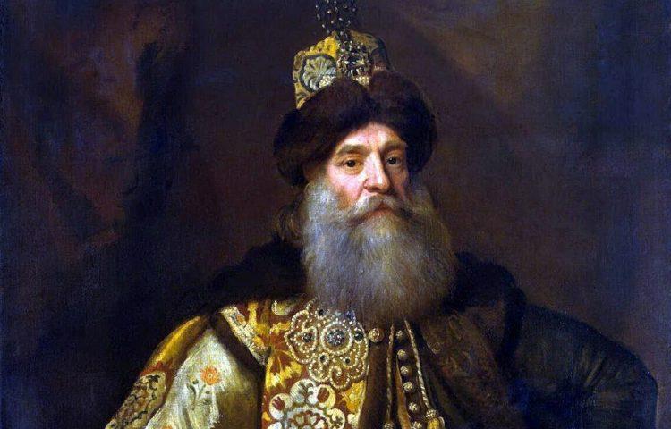 Bojaren - Portret van de bojaar Pyotr Potemkin door Godfrey Kneller (Publiek Domein - wiki)