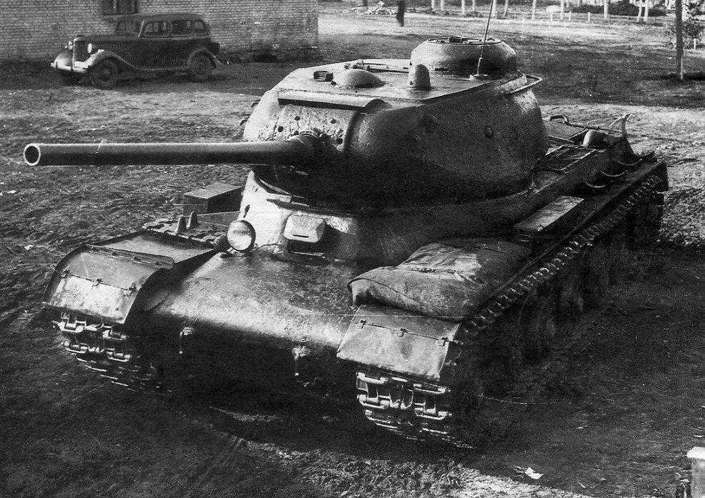 Prototype van de Jozef Stalin 1 (JS-1) - Publiek Domein / wiki