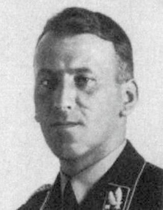 Ernst Kaltenbrunner rond 1938