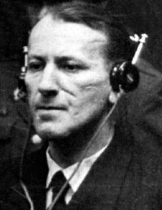 Kaltenbrunner tijdens zijn proces