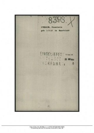 Transportkaart Amersfoort Transportkaart Amersfoort Franciscus Overmeer (stichting oktober 44)