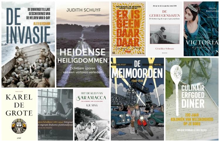 Nieuwe geschiedenisboeken (week 22) - 2019