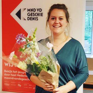Marit wint titel Jong Historicus van het Jaar (Foto: Maand van de Geschiedenis)