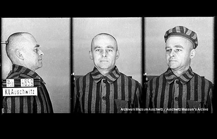 Witold Pelicki, ca maart 1941 (Bron: Vrijwillig naar Auschwitz)