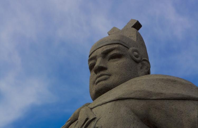 Monument Zheng He in Melaka.