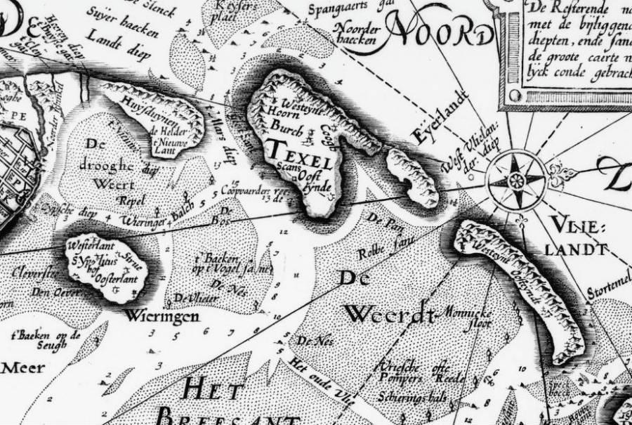 Deel zodenhuis gevonden op Texel