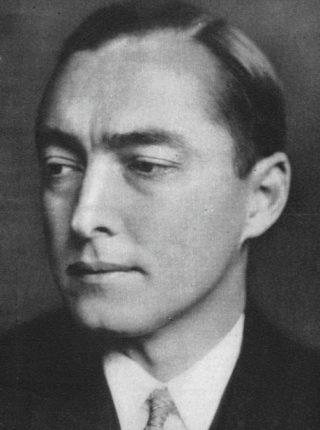 Richard Coudenhove-Kalergi in 1930 (Publiek Domein - wiki)