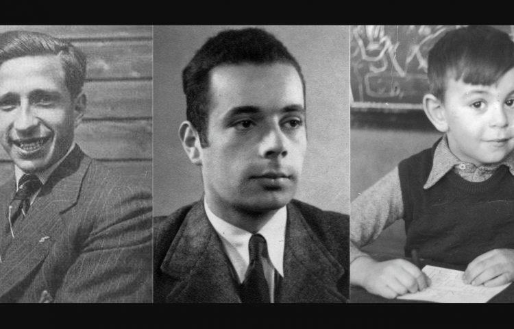 Leo Blumensohn, Salo Carlebach en Leo Meijer,