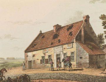 De hoeve La Belle Alliance of Het Schoon Verbond (Publiek Domein - wiki)
