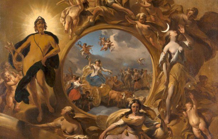 Lente (detail) - Nicolaes Berchem (Mauritshuis)