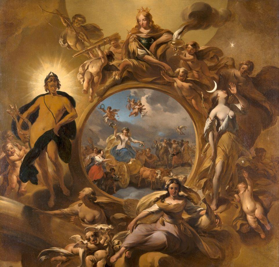 Lente - Nicolaes Berchem (Mauritshuis)