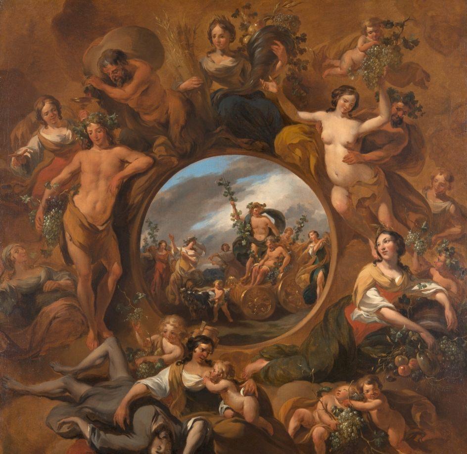 Herfst - Nicolaes Berchem (Mauritshuis)