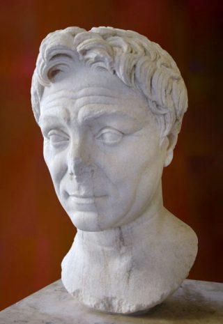 Gnaeus Pompeius Magnus, Louvre, Parijs (CC BY-SA 4.0 - wiki - Alphanidon)