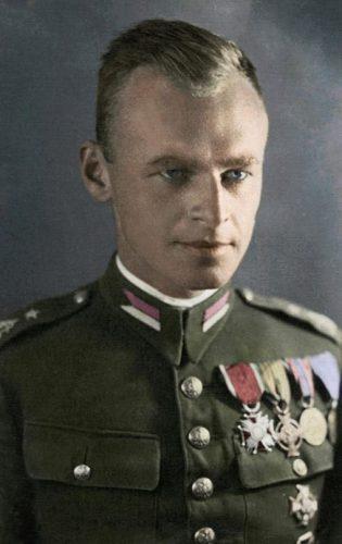Witold Pilecki, circa 1939 (Publiek Domein - wiki)