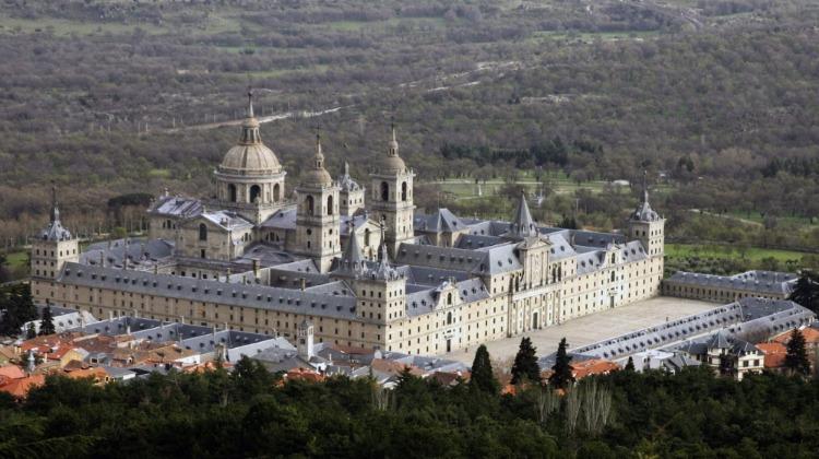 Luchtaanzicht van El Escorial (CC BY-SA 3.0 - Hans Peter Schaefer)