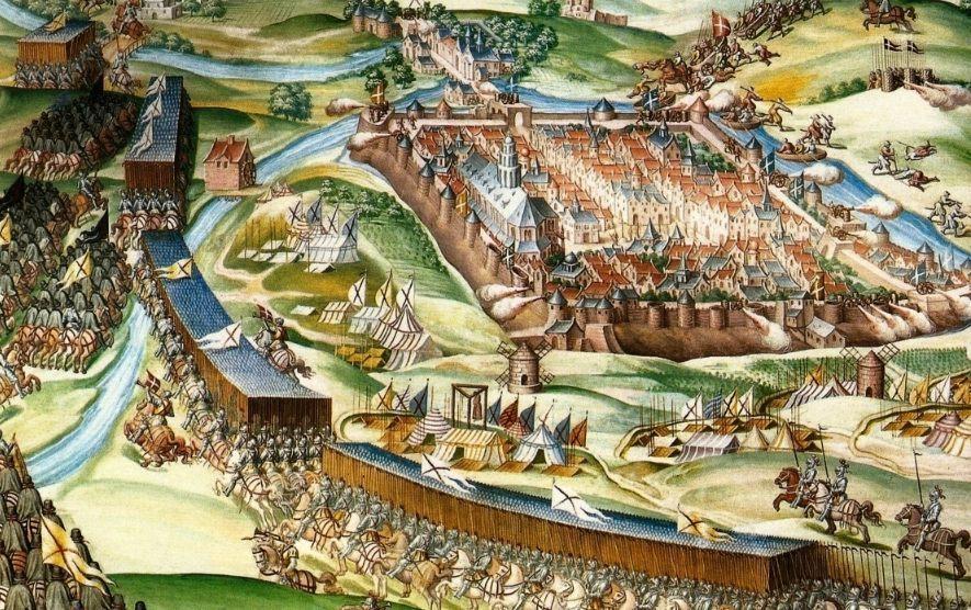 Slag bij Saint-Quentin - Niccoló Granello