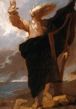 Benjamin West - The Bard (Publiek Domein - wiki)