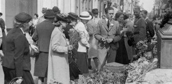 Anjerdag – Protest tegen de Duitse bezetting (29 juni 1940)
