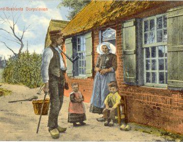 Noord-Brabants Dorpsleven, 1911 (J.H. Schaefer's Edition | Foto Frans Stender - BHIC)
