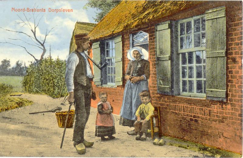 Noord-Brabants Dorpsleven, 1911 (J.H. Schaefer's Edition   Foto Frans Stender - BHIC)