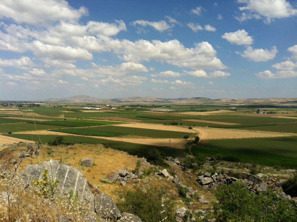 De vlakte van Farsalos