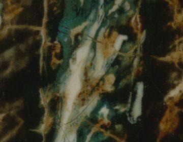 Detail van De Nachtwacht. Ingezoomd tot 5340 dpi, resolutie 4,75 micrometer (Rijksmuseum Amsterdam)