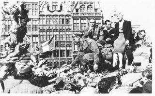 De bevrijding van Antwerpen, 4 september 1944 (Bron: Oorlogsbronnen.nl Collectie NIOD)