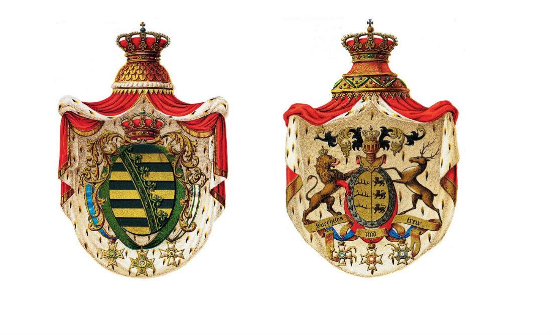 Ja blazoen oppoetsen - Twee willekeurige Duitse wapens (CC0 - Pixabay - alles)
