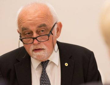 Jan Peumans in 2015 (CC BY-SA 2.0 - Saeima - wiki)