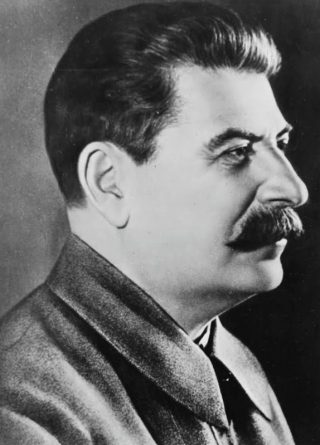 Jozef Stalin in 1942 (Publiek Domein - Library of Congress - wiki)