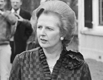 Margarth Thatcher in 1981 (CC0 - Anefo - Marcel Antonisse - wiki)